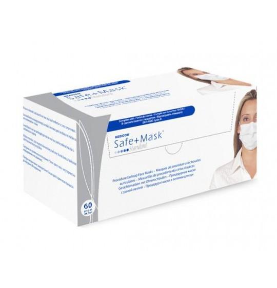 Maseczki Medicom Safe+ Standard IIR na gumki
