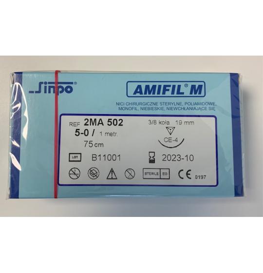 Amifil nici chirurgiczne 5-0 2MA 502