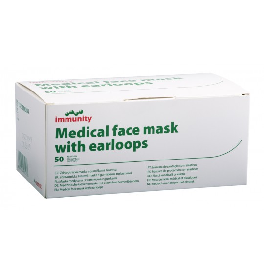 Disposable face masks with...