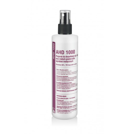 AHD 1000 hand disinfection spray