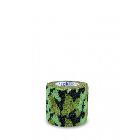 Samoprzylepny bandaż zielone moro Stokban