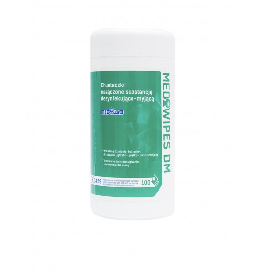 Mediwipes DM surface disinfection wipes