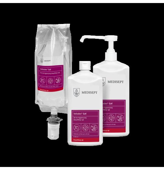 Velodes Gel 500ml hand disinfection gel