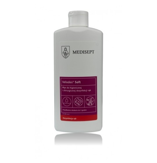 Velodes Soft 500ml hand disinfection liquid