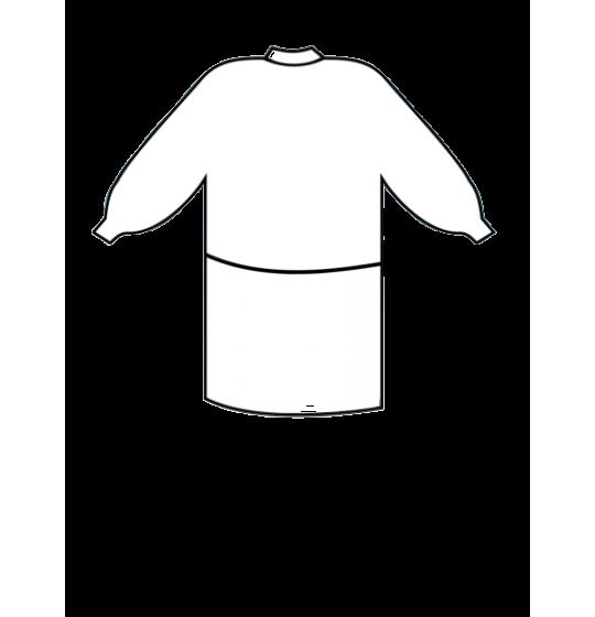 Fleece protective apron. Stokmed medical supplies