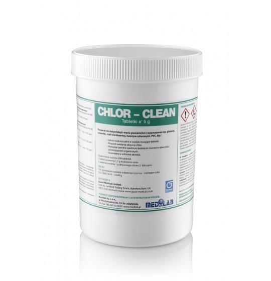 Chlor-clean tablets. Stokmed Poznan.