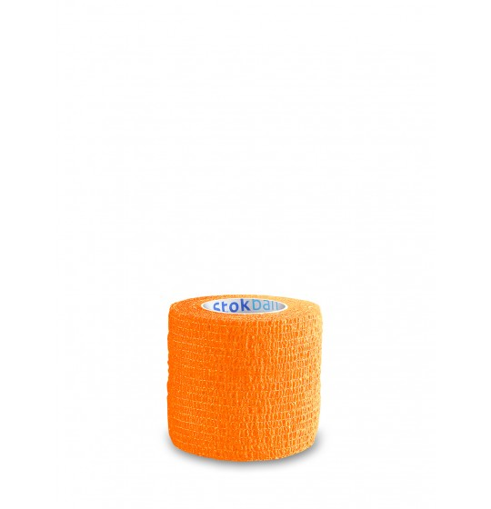Cohesive bandage Stokban orange 5cm