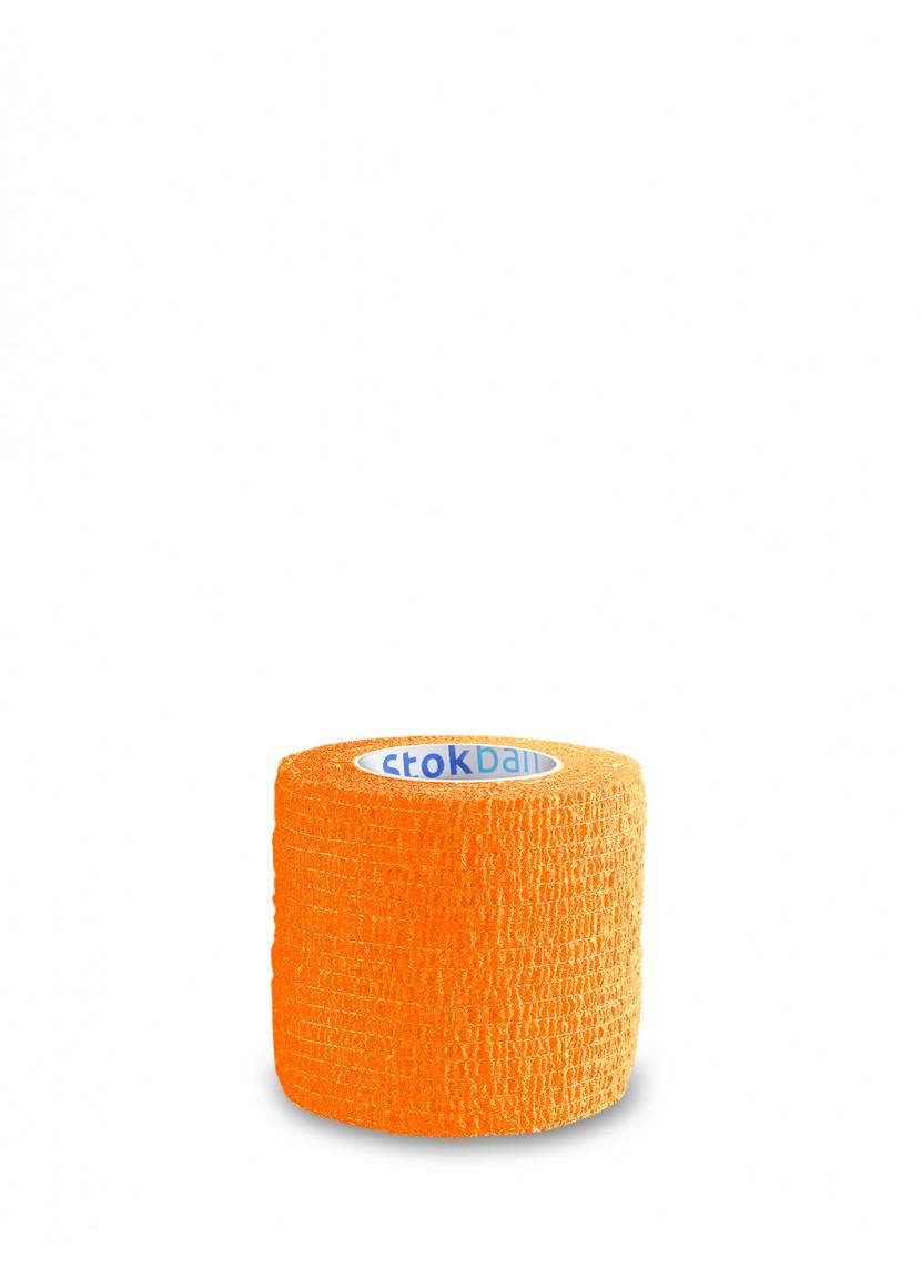 Cohesive bandage Stokban orange 5cm