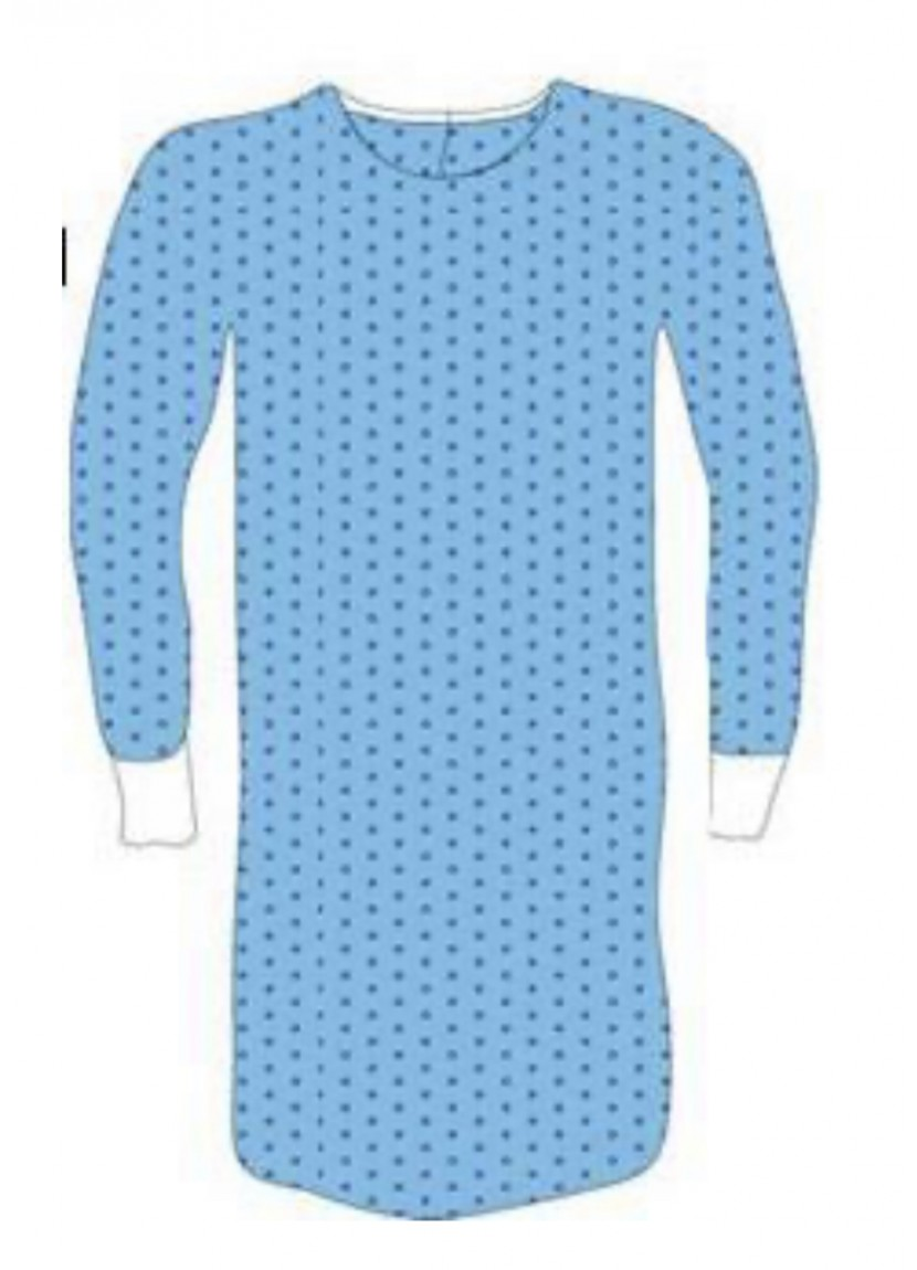 Surgical gown antistatic. Stokmed medical supplies