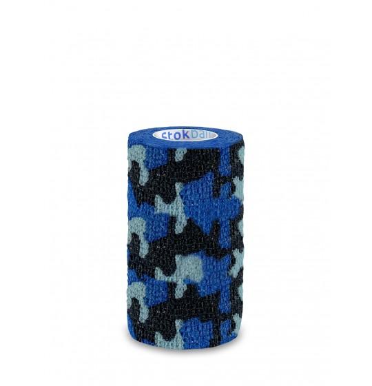 Stokban bandaż elastyczny moro niebieski 10cm