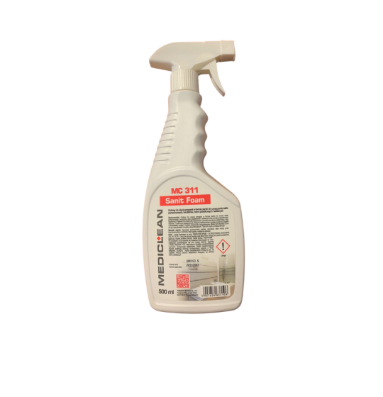 Mediclean 311 Foam bathroom cleaner