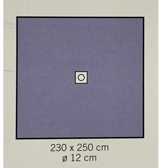 Surgical drape with adhesive hole ref.1535-02